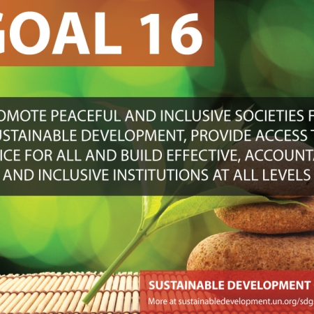 sixteen sustainable development goals